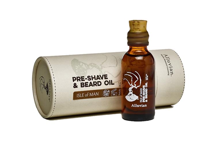 Image of Alluvian Isle of Man PreShave & Beard Oil (30 ml)
