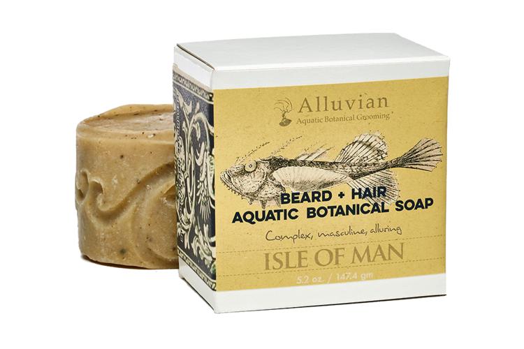 Alluvian Isle of Man - Beard + Hair Soap (147 g)