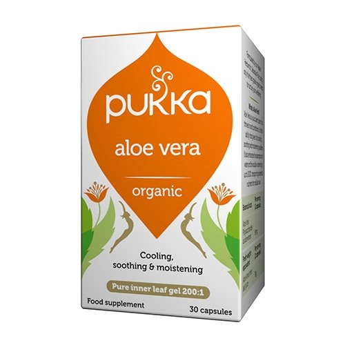 Image of Pukka Wholistic Aloe Vera Ø (30 kapsler)