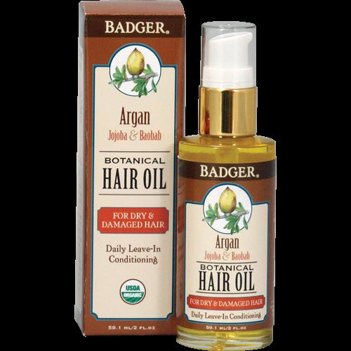 Image of Badger Argan Hårolie (59 ml)