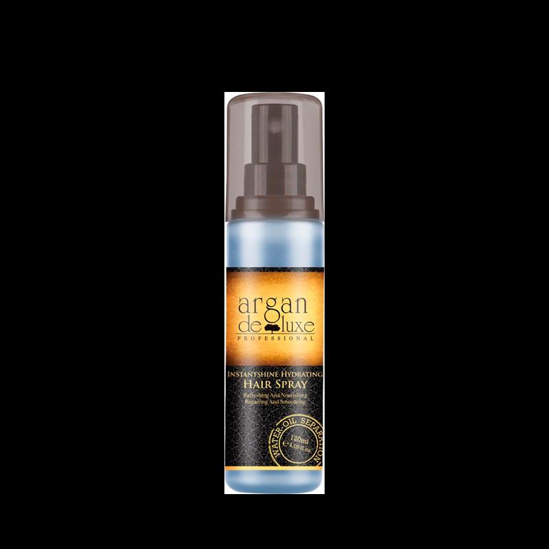 Argan De Luxe Instant Hydrating Hair Spray Oil-Water (120 ml)