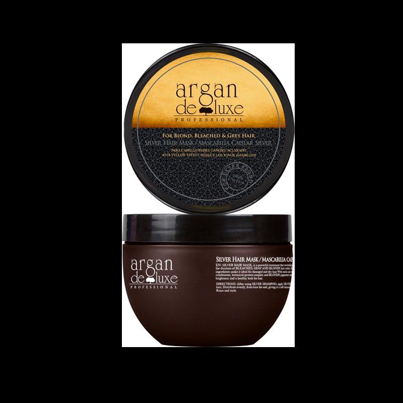 Argan De Luxe Remove Brassiness Silver Mask (500 ml)