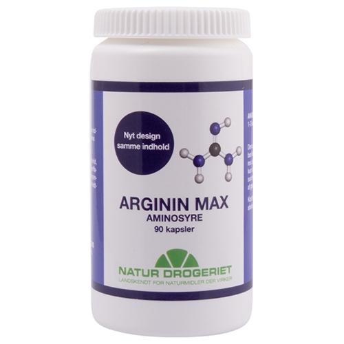 Image of Natur Drogeriet Arginin Max (90 kapsler)