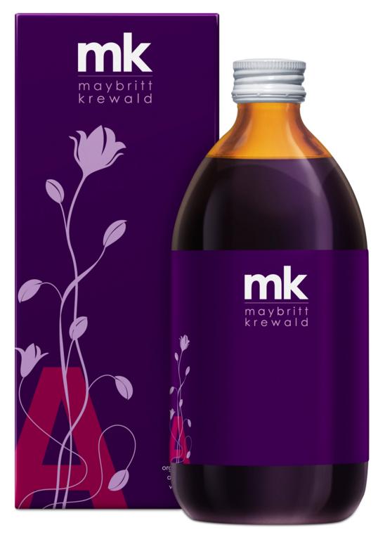 Tilbud på MK Organic Pure Aronia A (500 ml)