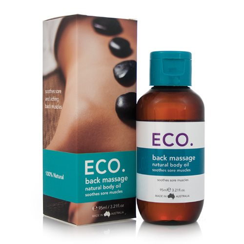 ECO. Massageolie ryg (95 ml)