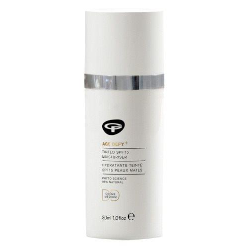 Tilbud på GreenPeople DD creme medium Age Defy+ Tinted spf15 moisturiser