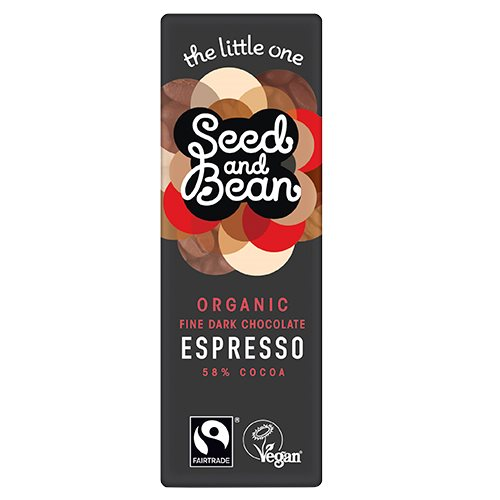 Seed & Bean mørk chokolade fra Helsebixen