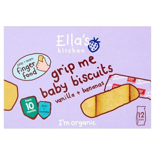 Image of Ella's Kitchen Babykiks Vanilje & Banan 10 mdr (108 g)