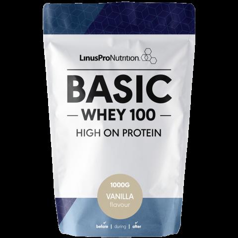 Image of LinusPro Basic Whey100 Vanilla (1 kg)