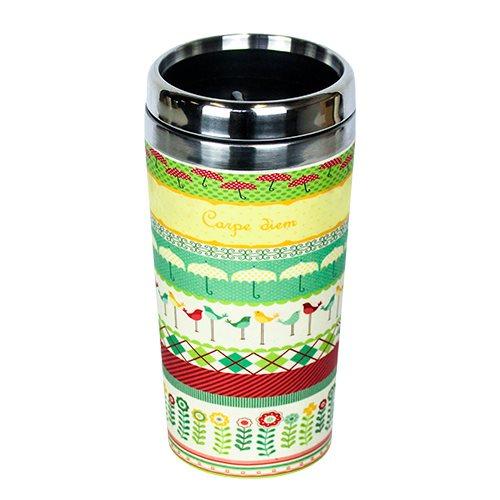 Bambus Termo Cup Carpe Diem (500 ml)
