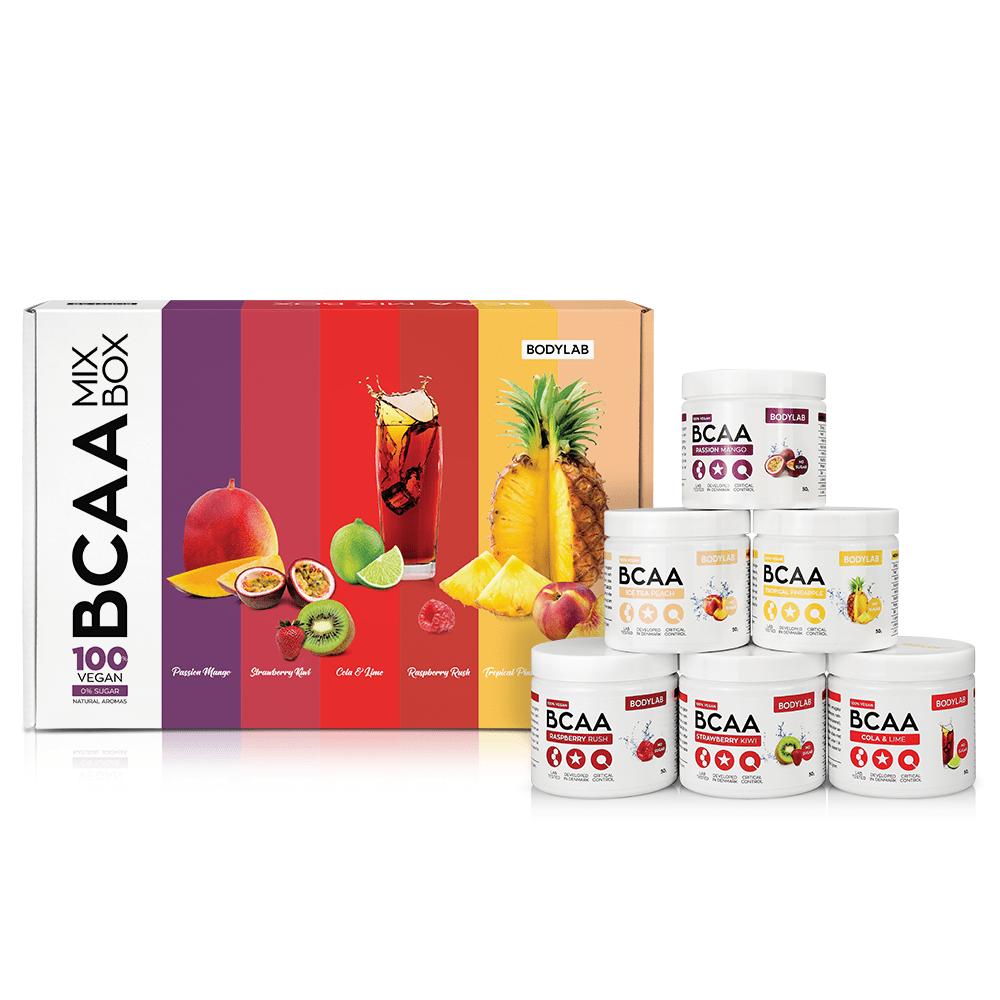 Image of Bodylab BCAA Mix Box (6x50g)
