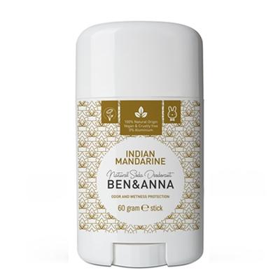 Image of Ben & Anna Naturlig Deodorant - Indian Mandarine (60 g)