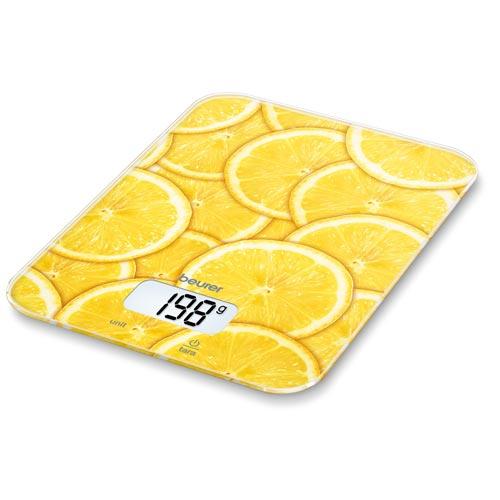 Image of Beurer KS19 Køkkenvægt, Lemon (5 kg)