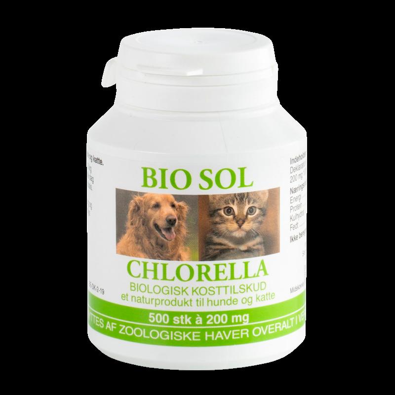 Chlorella Bio Sol Til Vet. Brug