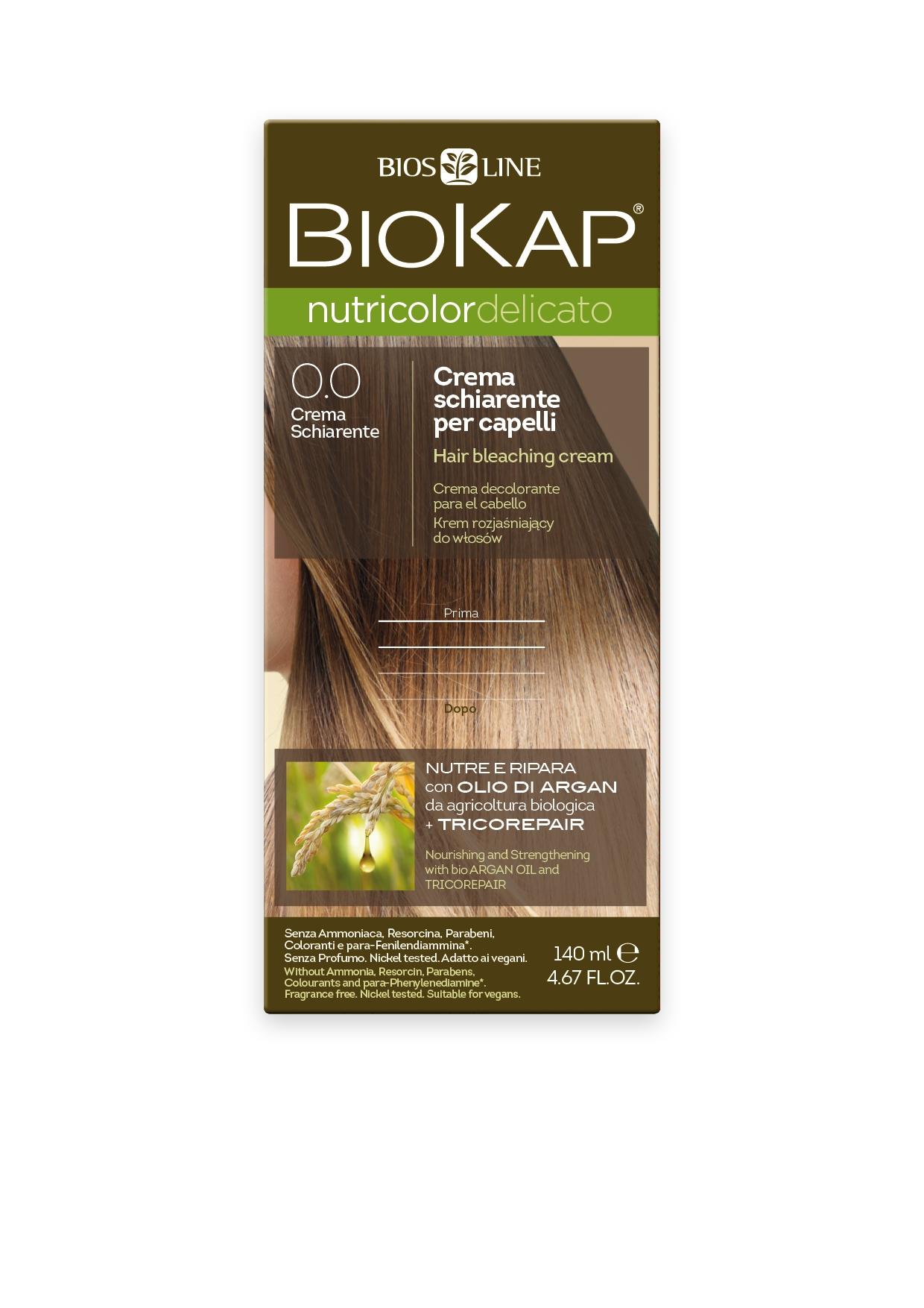 Image of BioKap 0.0 Nutricolor Bleaching Cream DELICATO