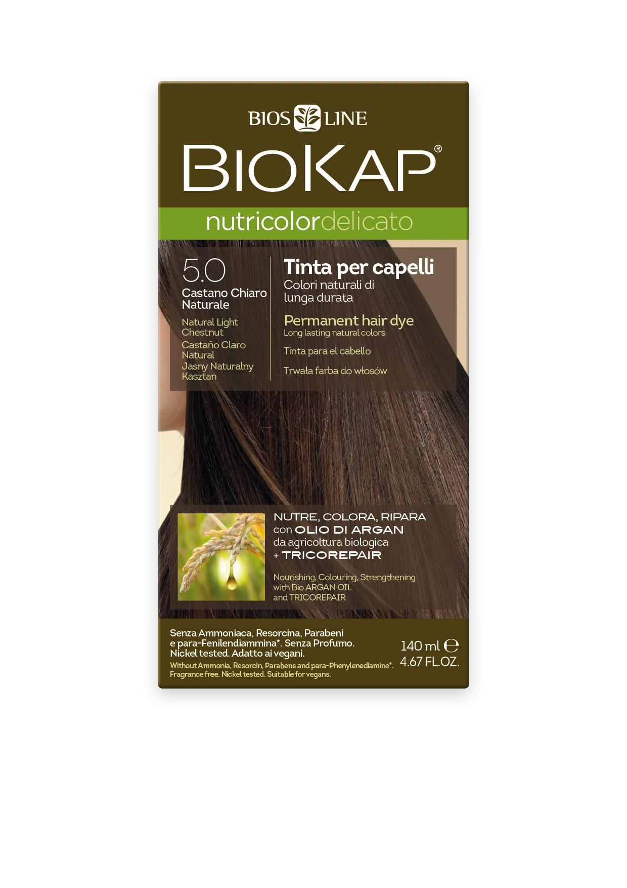 Image of BioKap 5.0 Nutricolor Natural Light Brown DELICATO Dye