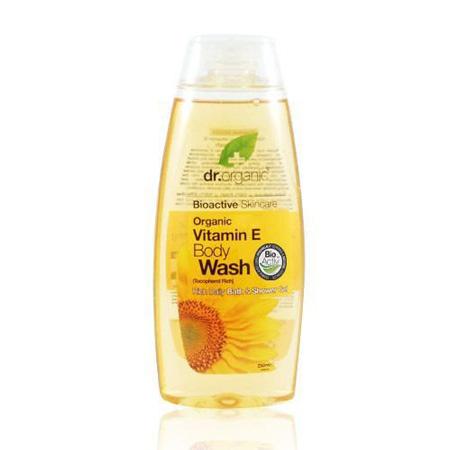 Image of Dr. Organic Vitamin E Body wash (250 ml)