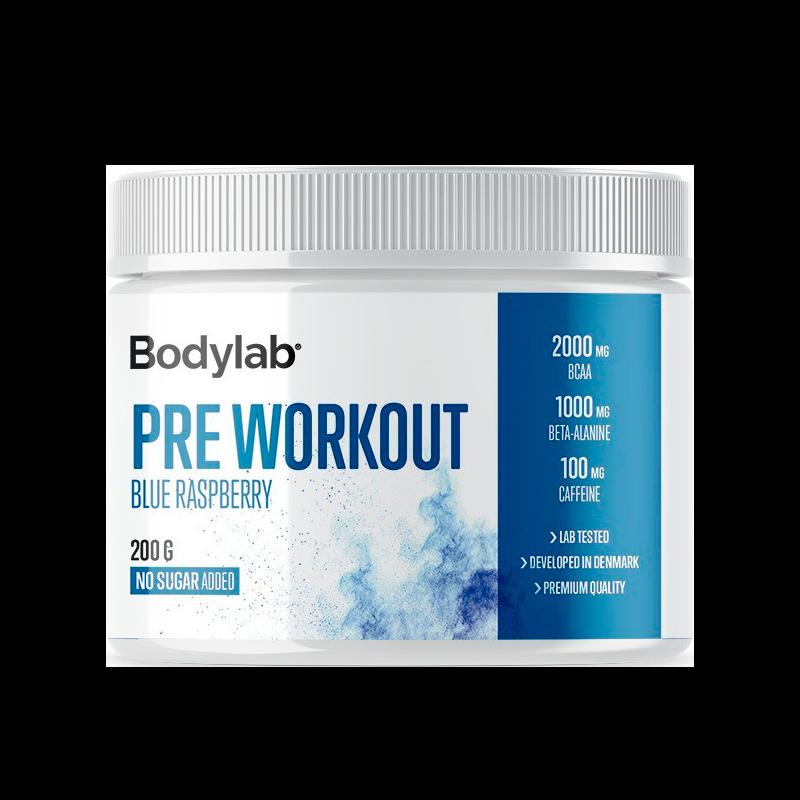 Billede af Bodylab Preworkout Blue Raspberry (200 g)