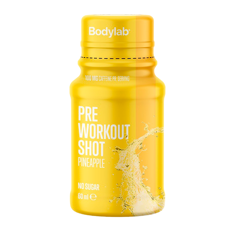 Billede af Bodylab Pre Workout Shot Pineapple (60 ml)