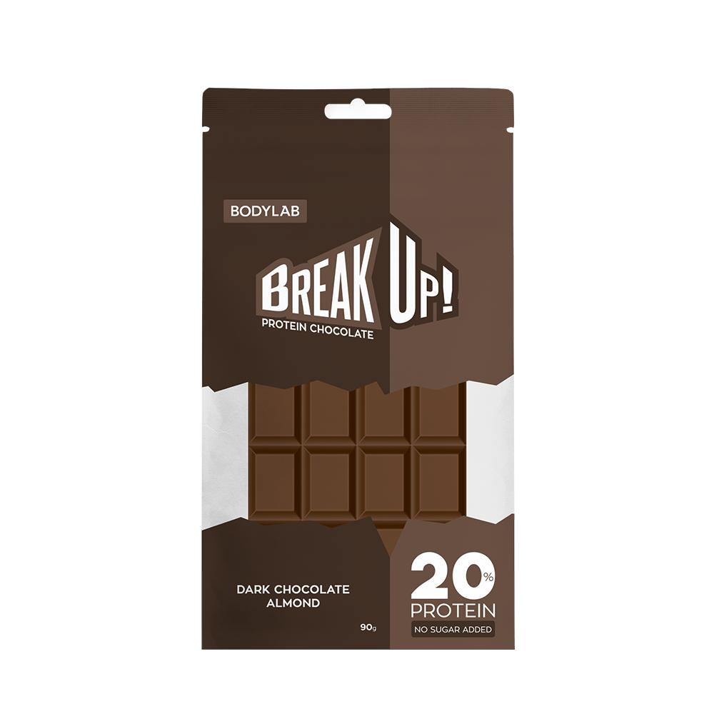 Image of Bodylab BreakUp Protein Chocolate Dark Choco Almond (12x 90g)