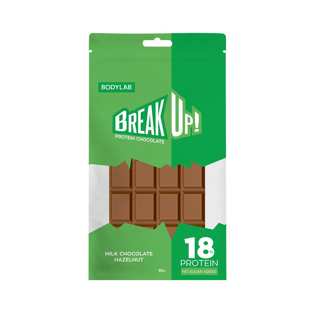 Image of Bodylab BreakUp Protein Chocolate Milk Choco Hazelnut (12x90g)