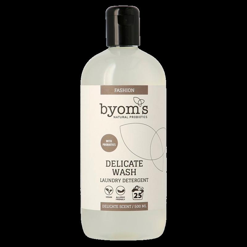 Byoms Delicate Wash Probiotic Laundry Detergent Colour (500 ml) thumbnail