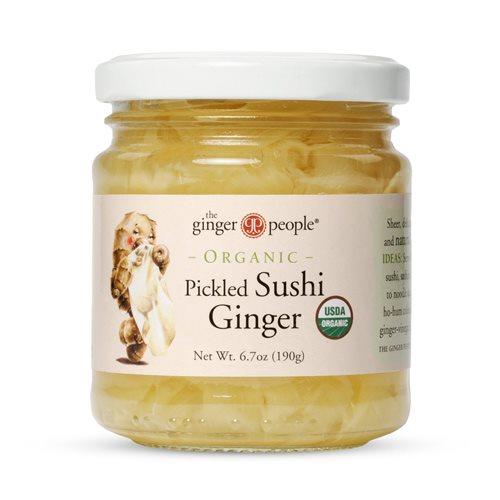 Billede af Ginger People Ingefær sushi Ø (190 g)