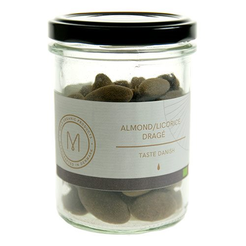 Image of Mols Organic Dragé almond/licorice Ø (100 g)