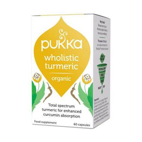 Image of Pukka Turmeric gurkemeje Ø (60 kap)
