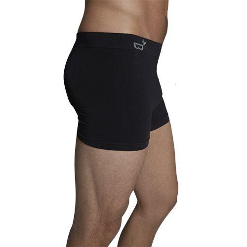 Sowco Boxer shorts sort str. M (1 stk)