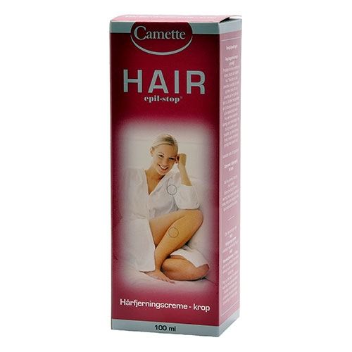 Image of Camette Hair Epil-Stop - Hårfjerningscreme Krop (100 ml)