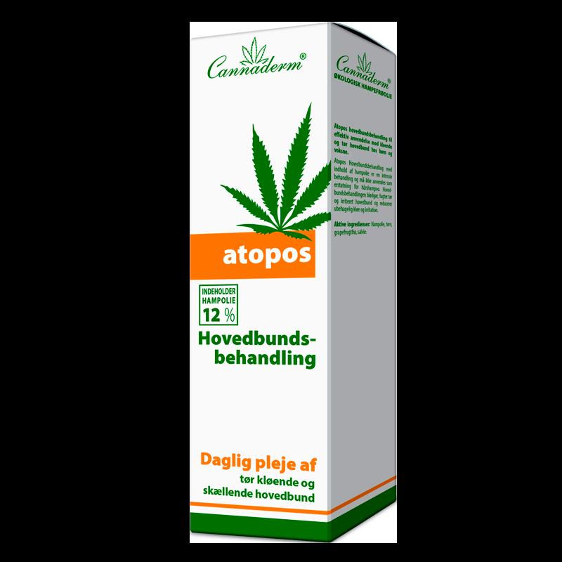 Cannaderm Hovedbundsbehandling (100 ml)