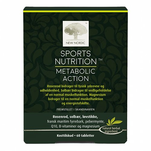 Image of New Nordic Sports Nutrition Metabolic Action (60 tab.)