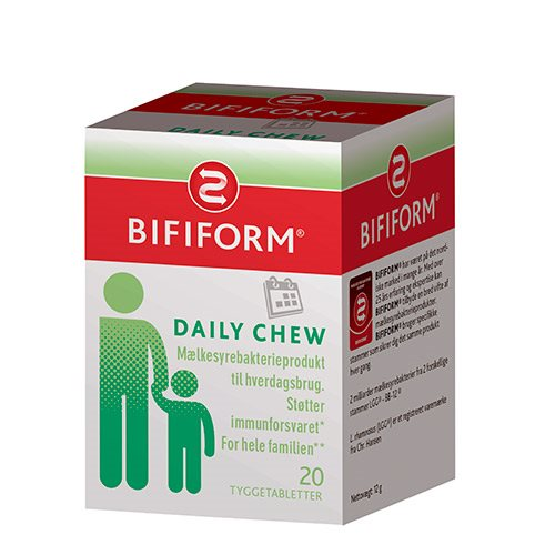 Bifiform daily chews (20 tab)