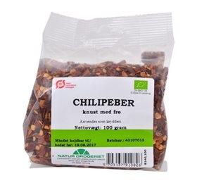 Image of Natur Drogeriet Chili Knust med Frø Ø (100 gr)