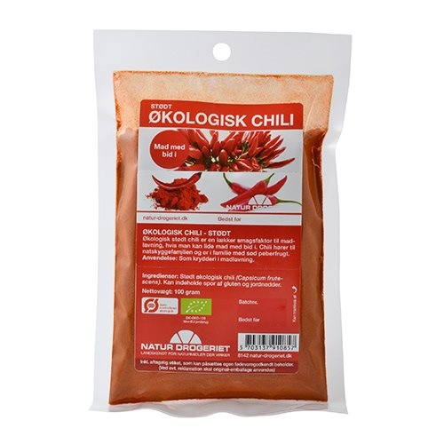 Image of Natur Drogeriet Chili Stødt Ø (100 gr)