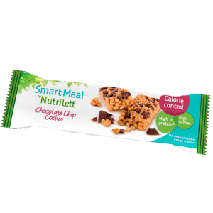 Image of Nutrilett Chocolate Chip Cookie bar (60 g.)