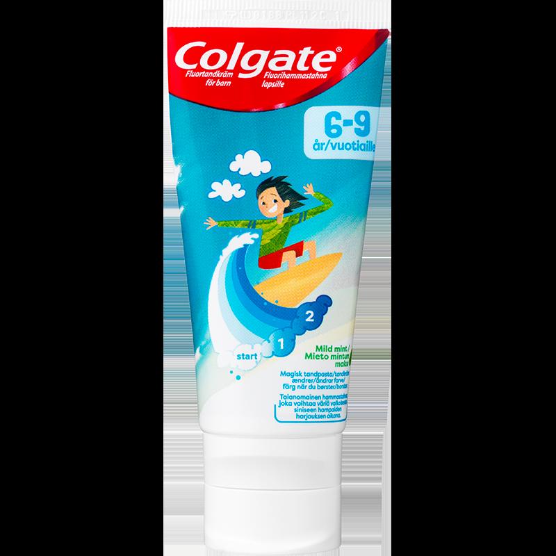 Colgate Kids 6-9 År Training Tandpasta (50 ml)