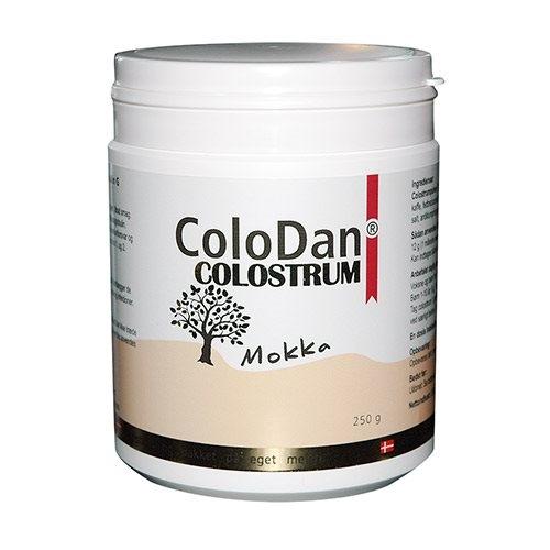 ColoDan Colostrum pulver mokka (250 g)