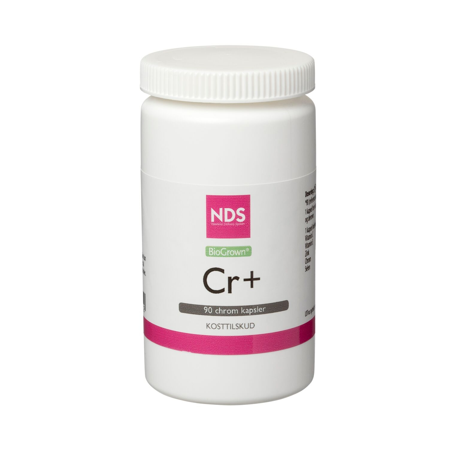 Image of NDS Cr+ Chrom tablet 60 mcg (90 tab)