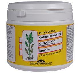Image of Natur Drogeriet Curcuma kapsler 495 mg (360 stk)