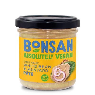 Bonsan Paté Hvid Bønne/Sennep Ø (140 g)