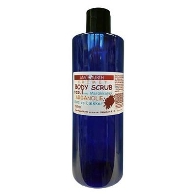 MacUrth - Rasul Body Scrub med argan og appelsinolie (350 ml)