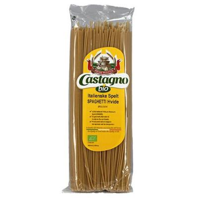Castagno, Spelt spaghetti hvid Ø (500 g)