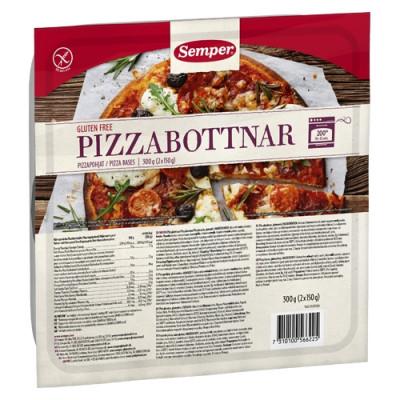 Semper Glutenfri Pizzabund (2 x 150 gr)