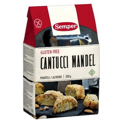 Semper Cantucci M. Mandel Glutenfri (200 gr)