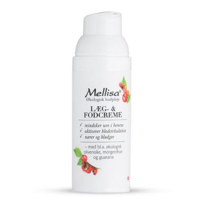 Mellisa Læg og fodcreme (50ml)