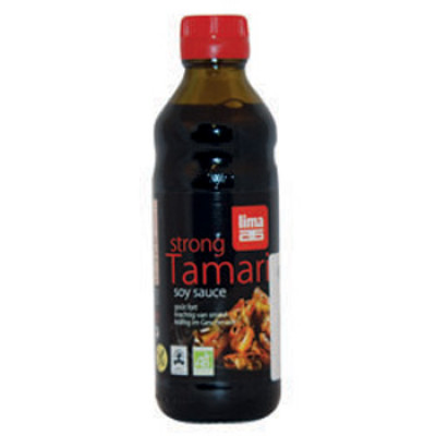 Lima Tamari Soyasauce Stærk Ø (250 ml)