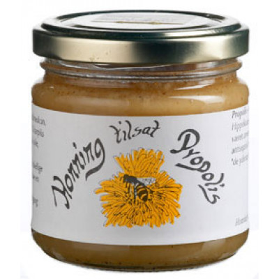 Honning m. propolis 250 gr.