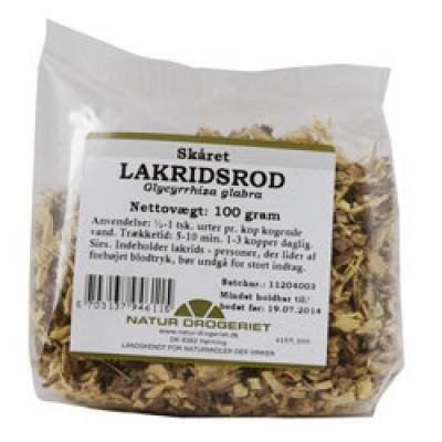 Natur Drogeriet Lakridsrod Skåret (100 gr)